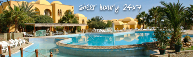 Flight & hotel sheer Luxury 24*7